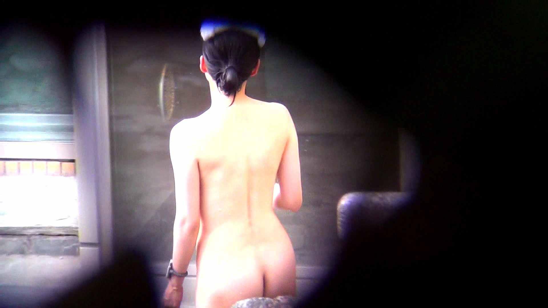 Vol.60 細身美女の股間から垂れているタコ糸 露天 エロ画像 75連発 10