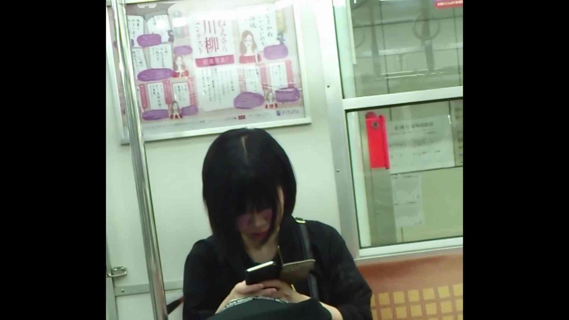盗撮列車 Vol.49茶髪ショートヘアのスカートの中 いやらしいOL エロ画像 97連発 12