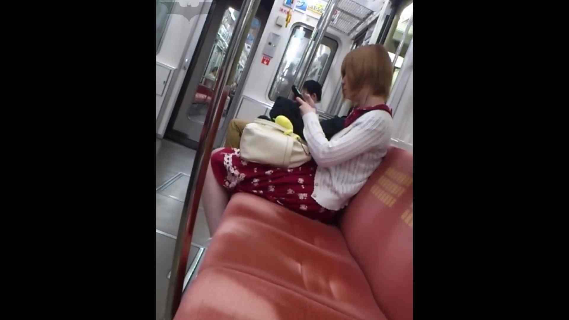 盗撮列車 Vol.49茶髪ショートヘアのスカートの中 0 | 0  97連発 91
