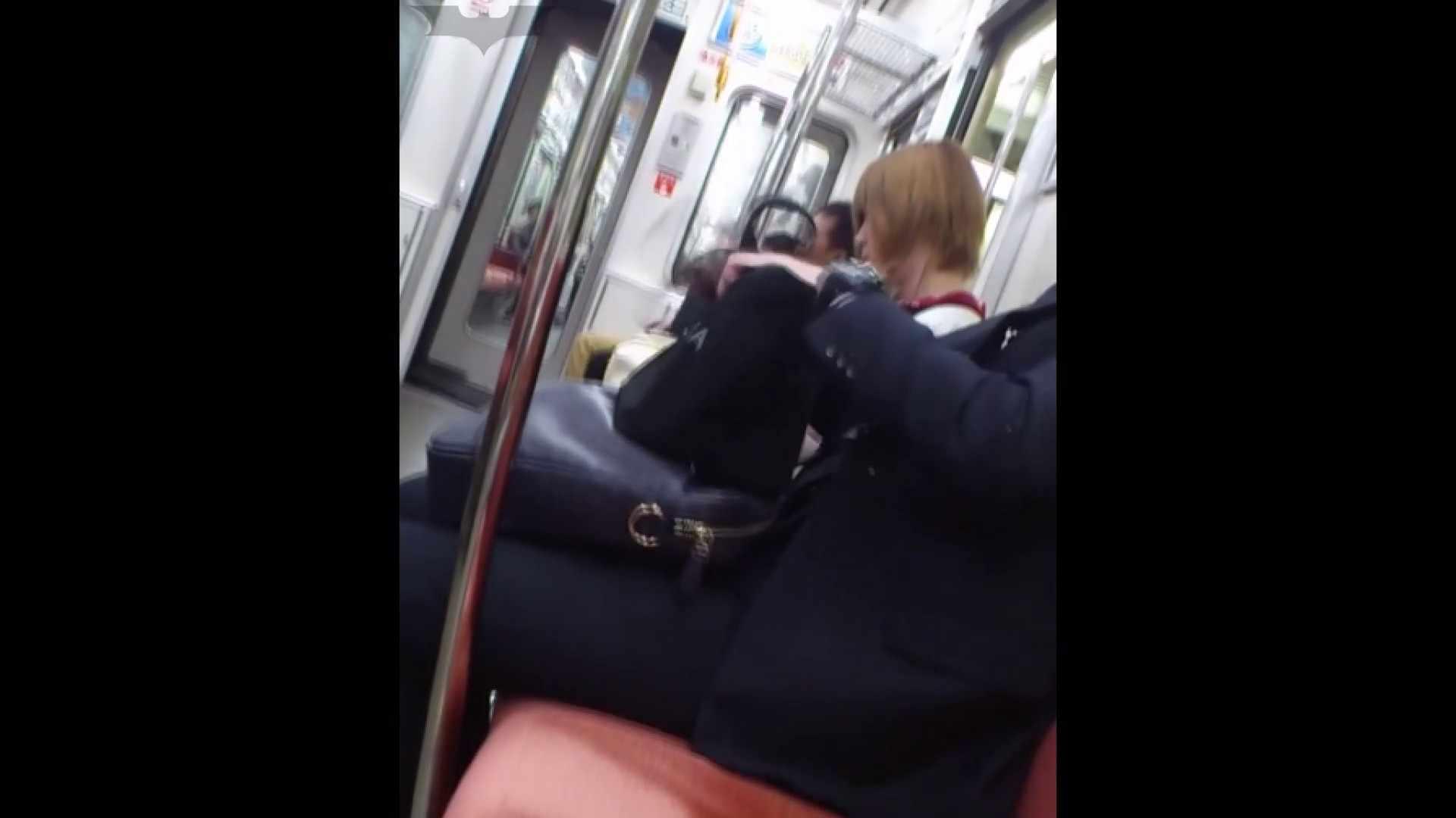 盗撮列車 Vol.49茶髪ショートヘアのスカートの中 いやらしいOL エロ画像 97連発 92