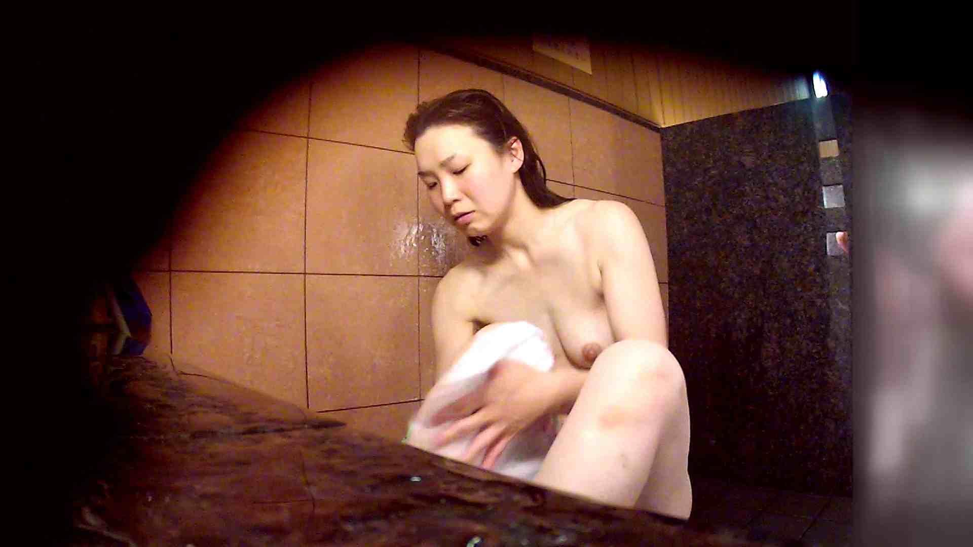 洗い場!マッスルお嬢さん!でもオッパイだけは柔らかそうです。 銭湯 性交動画流出 30連発 7