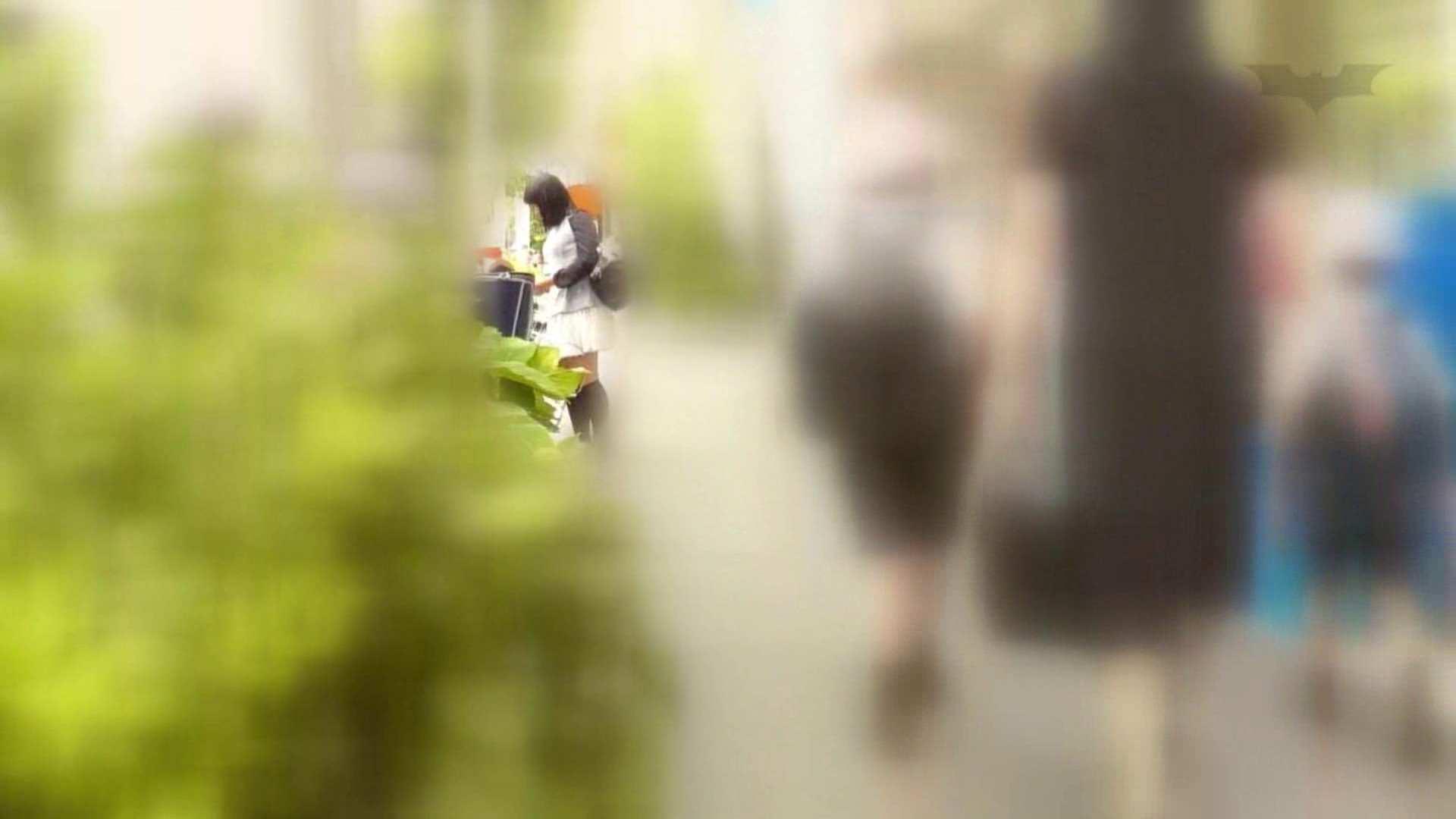 自転車パンチラ Vol.06 チラ おまんこ動画流出 59連発 11