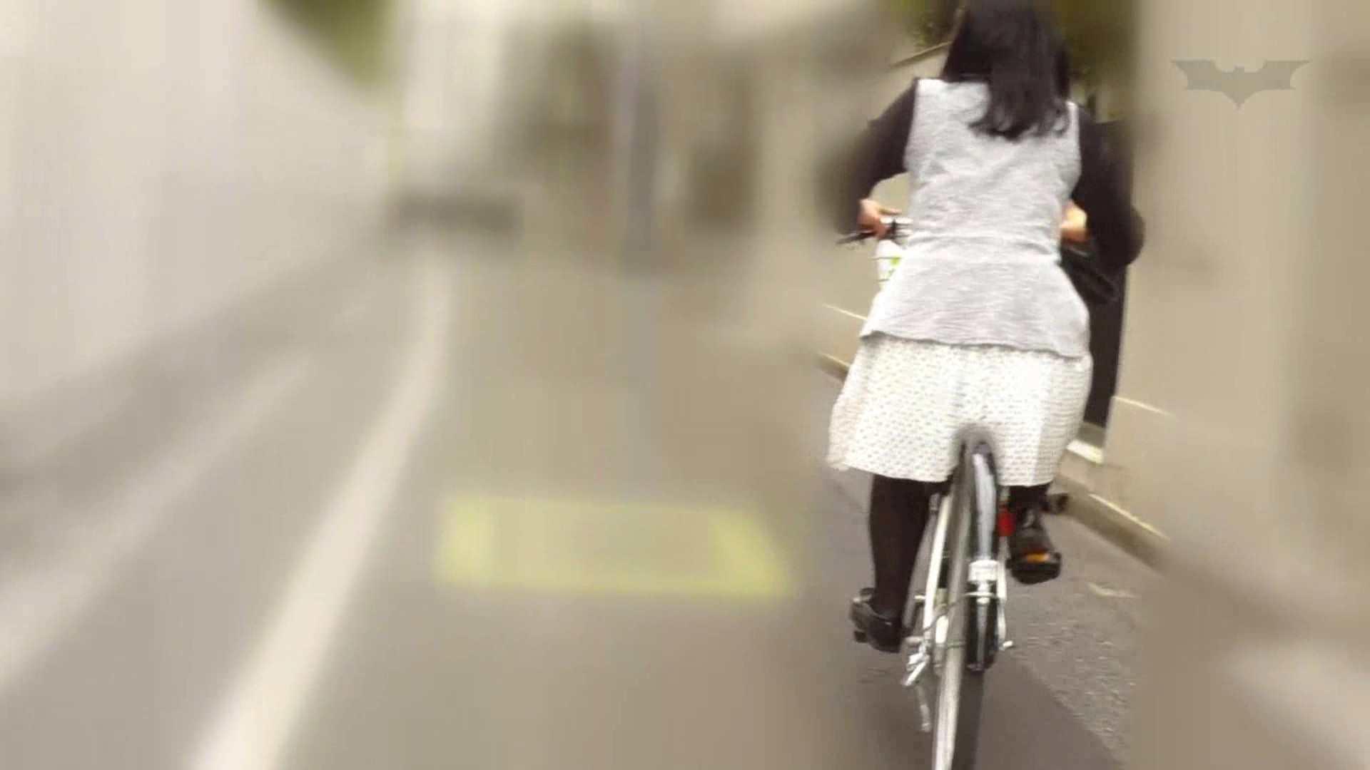 自転車パンチラ Vol.06 追跡 われめAV動画紹介 59連発 22