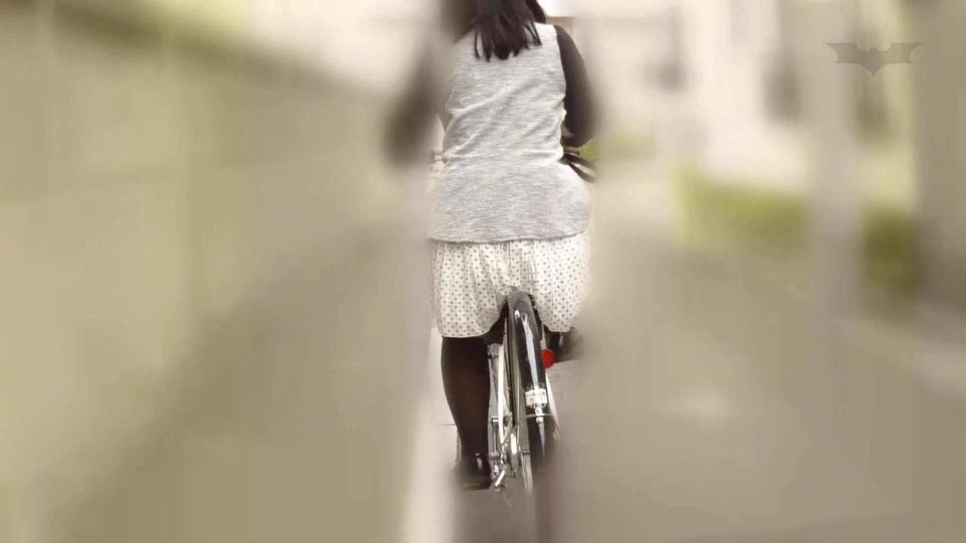 自転車パンチラ Vol.06 いやらしいOL AV無料 59連発 26
