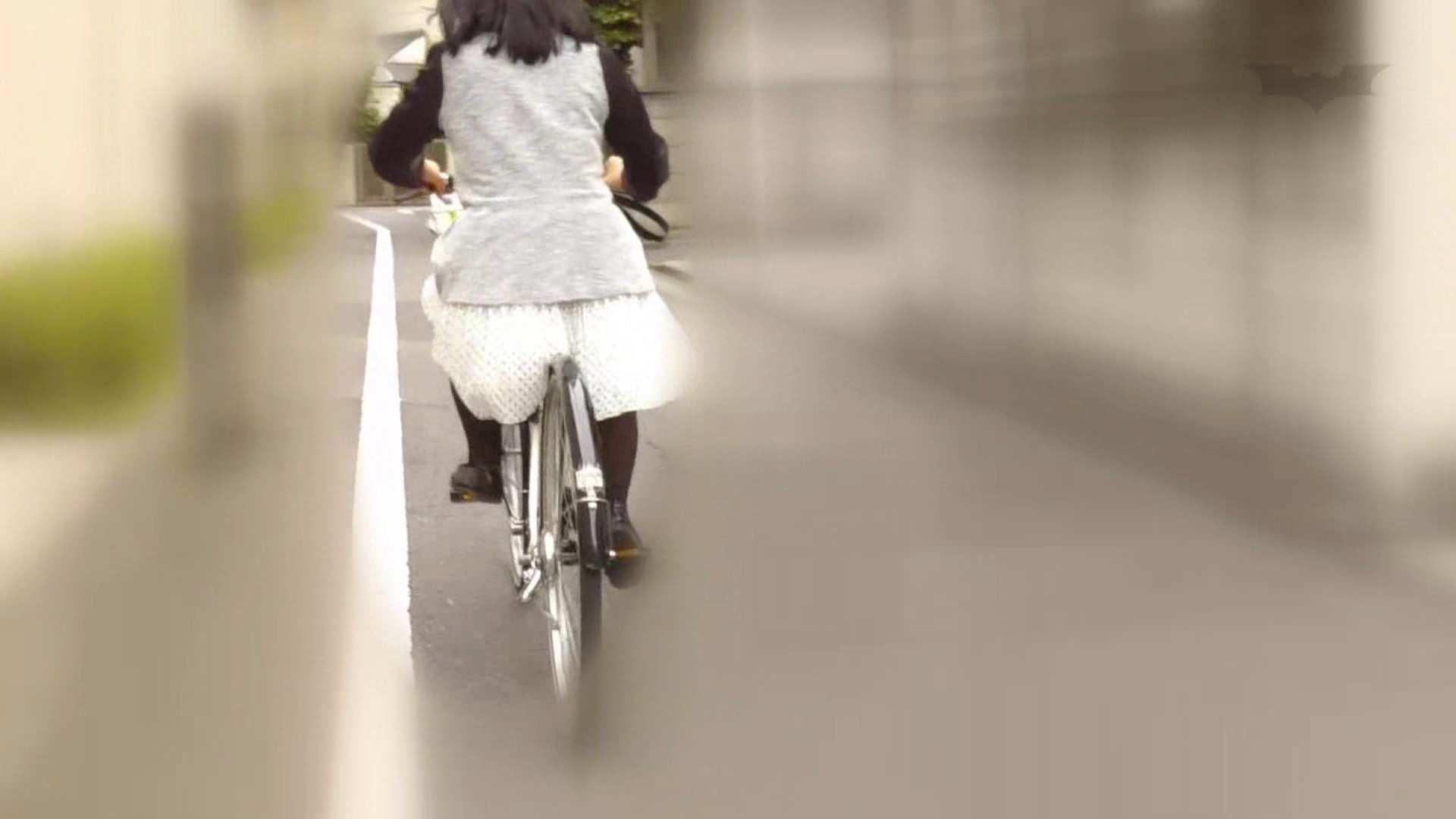 自転車パンチラ Vol.06 車 ワレメ無修正動画無料 59連発 29