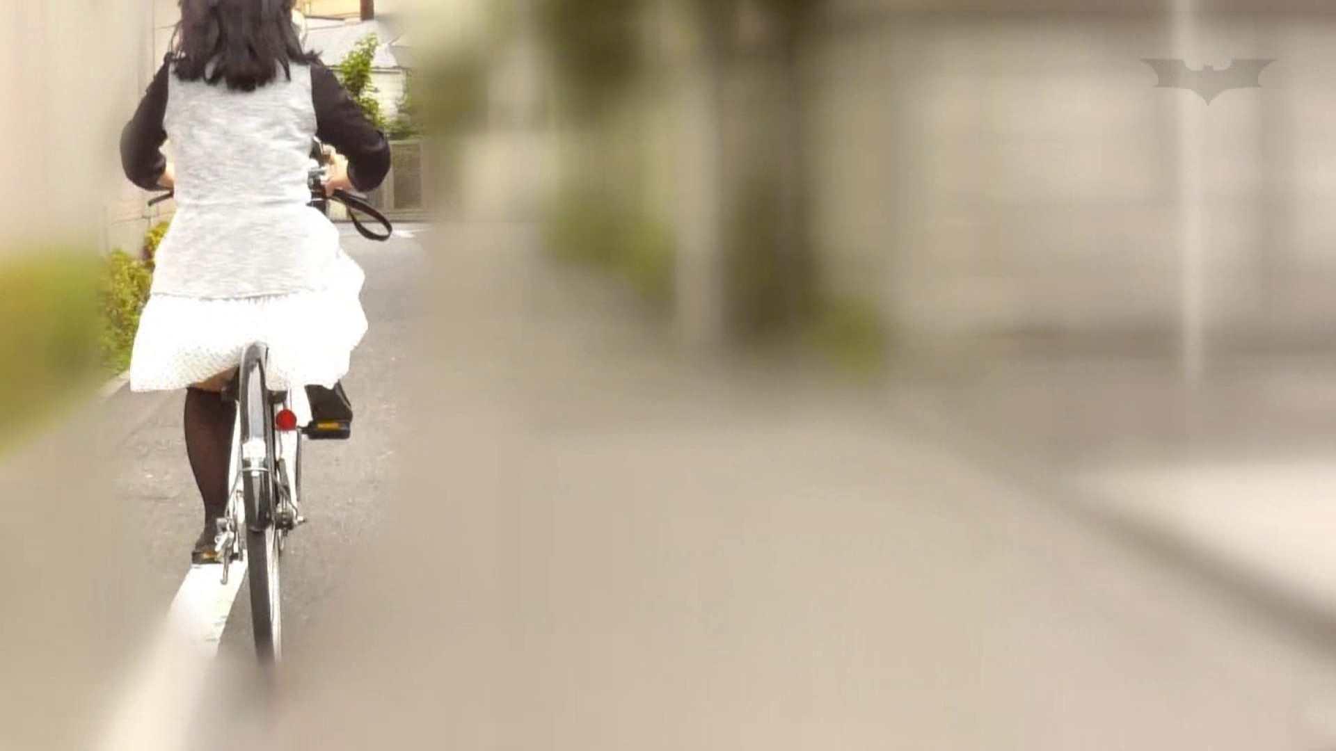 自転車パンチラ Vol.06 追跡 われめAV動画紹介 59連発 30