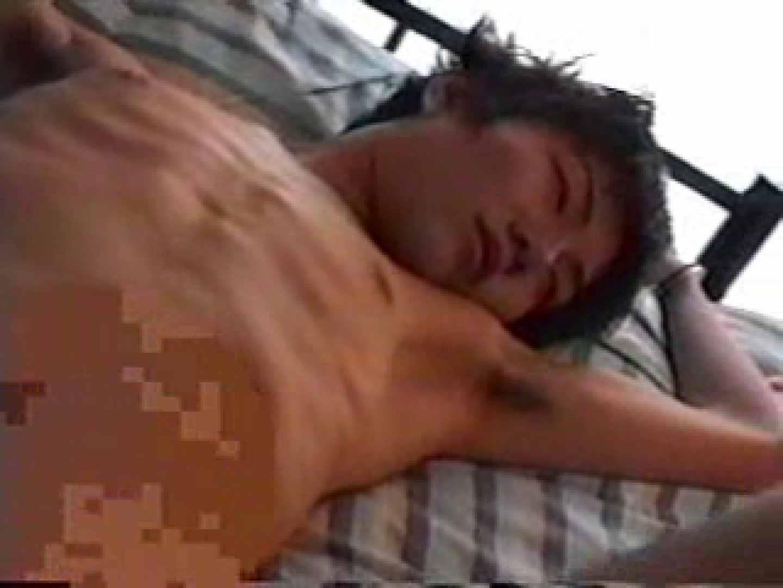 無修正セックス盗撮:イケメンのアナル調教:生挿入