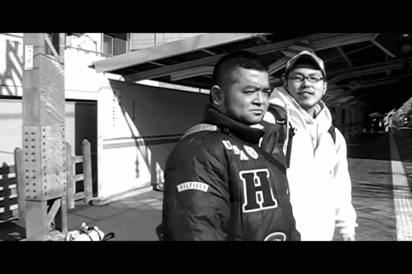 無修正セックス盗撮:Crazy野郎!!~恥感train~前編:Wフェラ
