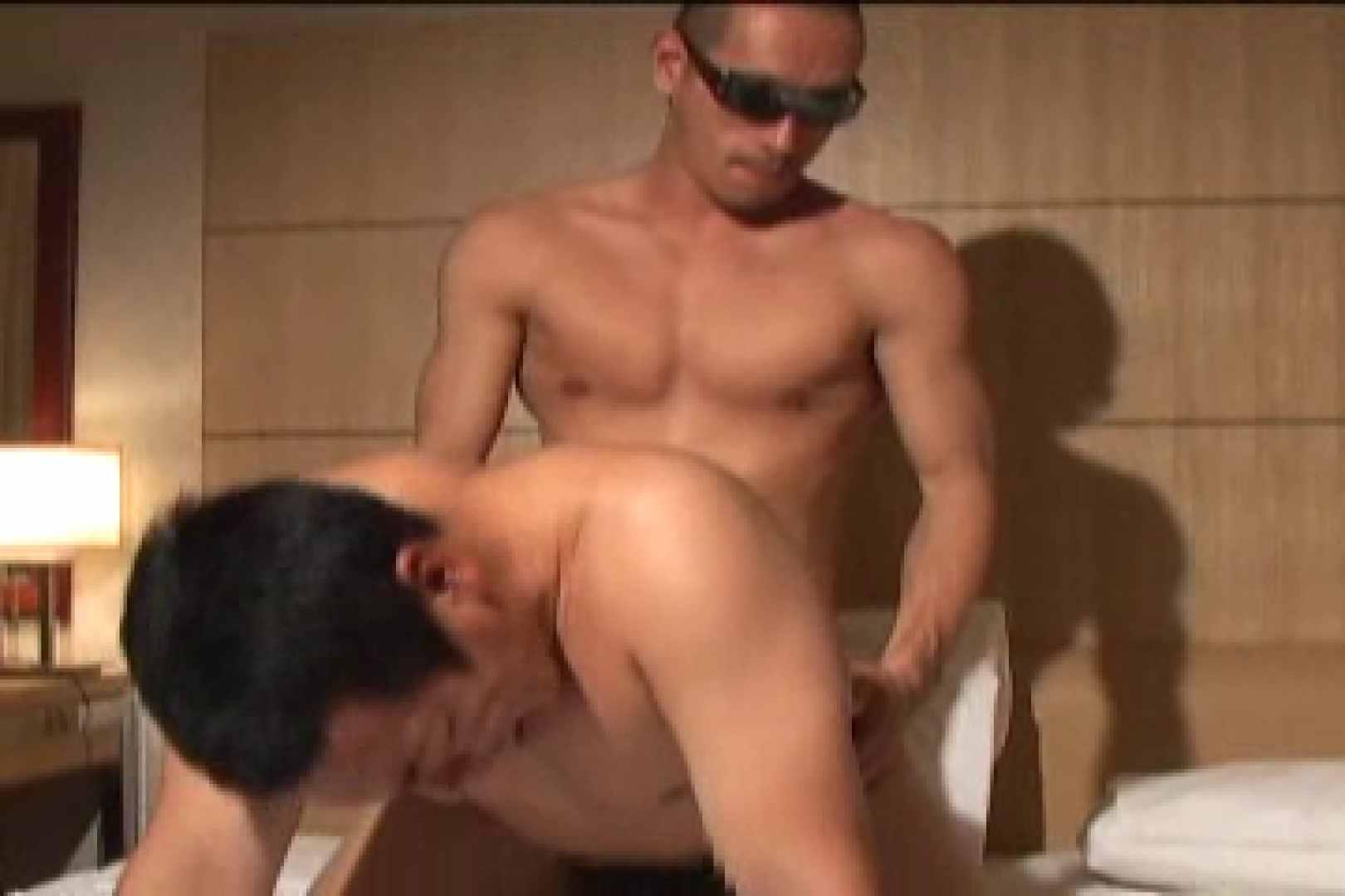 無修正セックス盗撮:スポMENファック!!反り勃つ男根!!vol.6:ディープキス