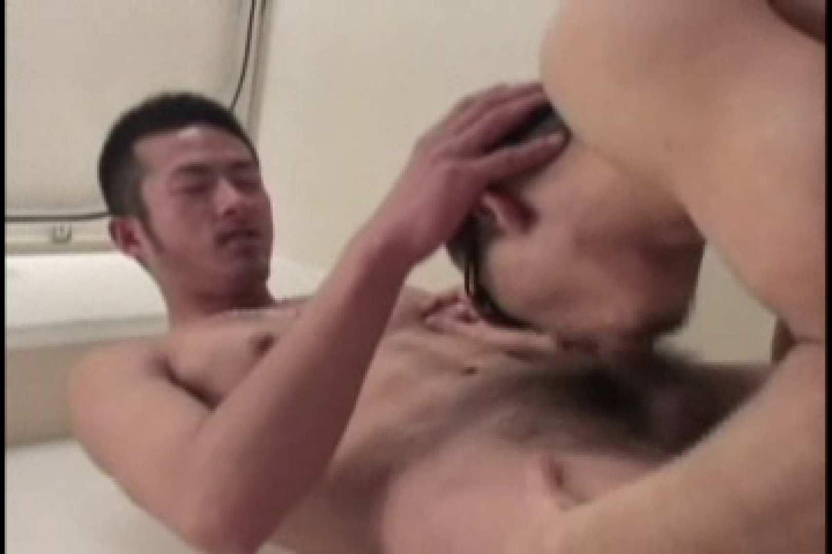 無修正セックス盗撮:スリ筋!!スポメンのDANKON最高!!take.04:フェラ