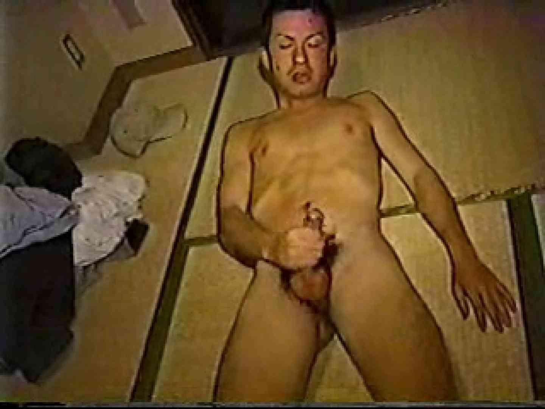 無修正セックス盗撮:オナニー好き男集結:中年