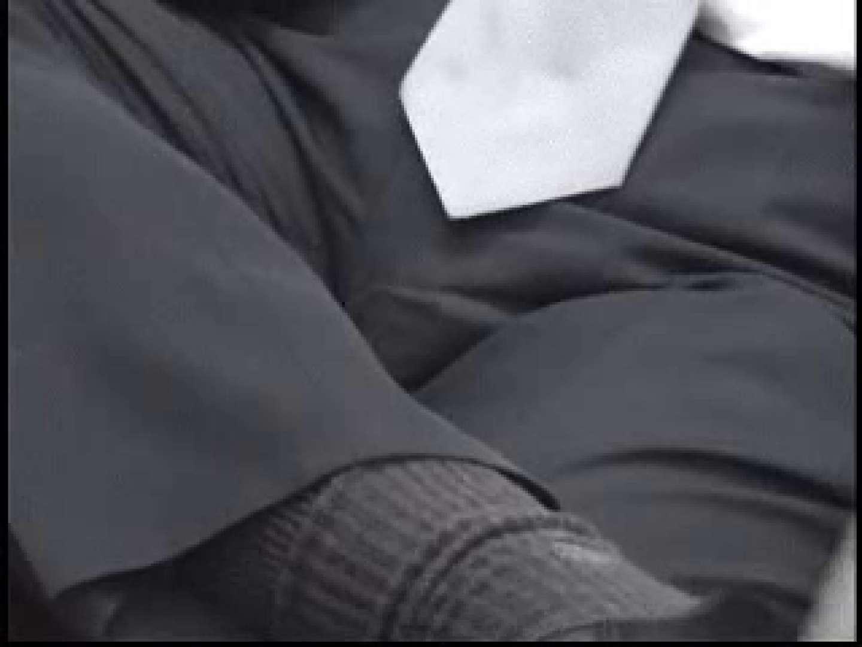 無修正セックス盗撮:街行くサラリーマン達の股間具合を撮影:スーツ