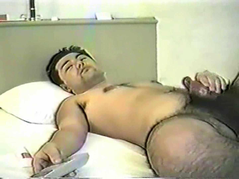 無修正セックス盗撮:これはスゴ過ぎ!濃すぎ!剛毛男の自慰行為!:完全無修正
