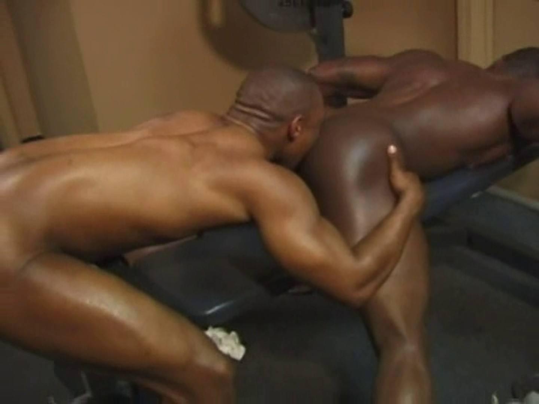 無修正セックス盗撮:ブラックマッスルシリーズVOL.1:カップル