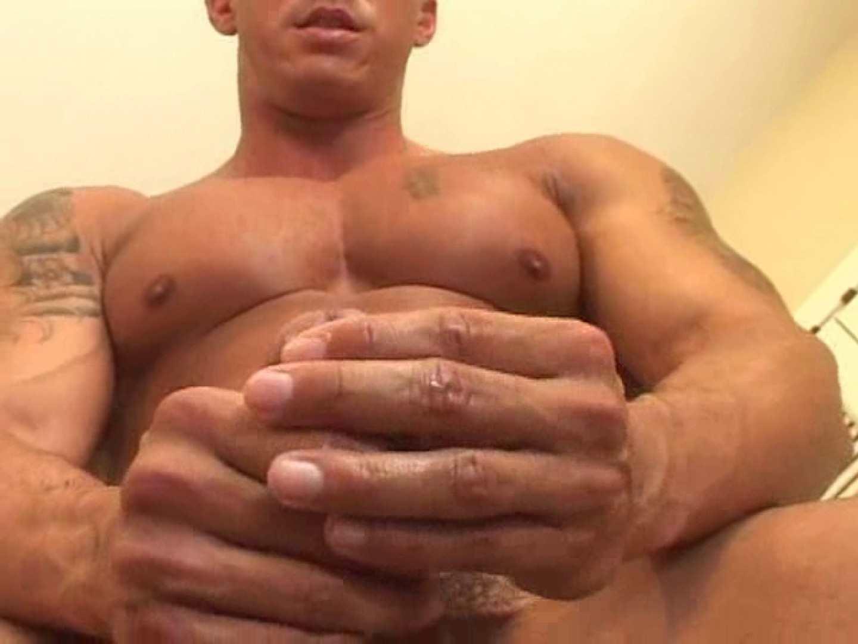 無修正セックス盗撮:白人さんメガマッスルオナニーVOL3:シコシコ