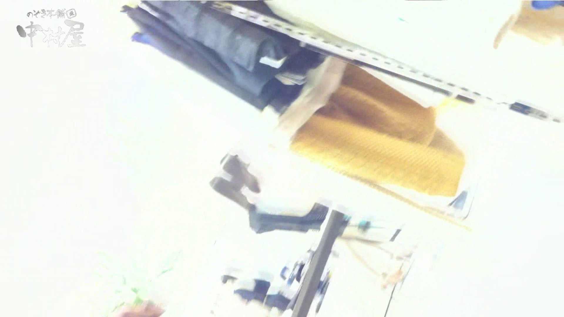 vol.75 美人アパレル胸チラ&パンチラ きれいな髪のおねーさんはド派手パンツ 接写 オメコ動画キャプチャ 86連発 78