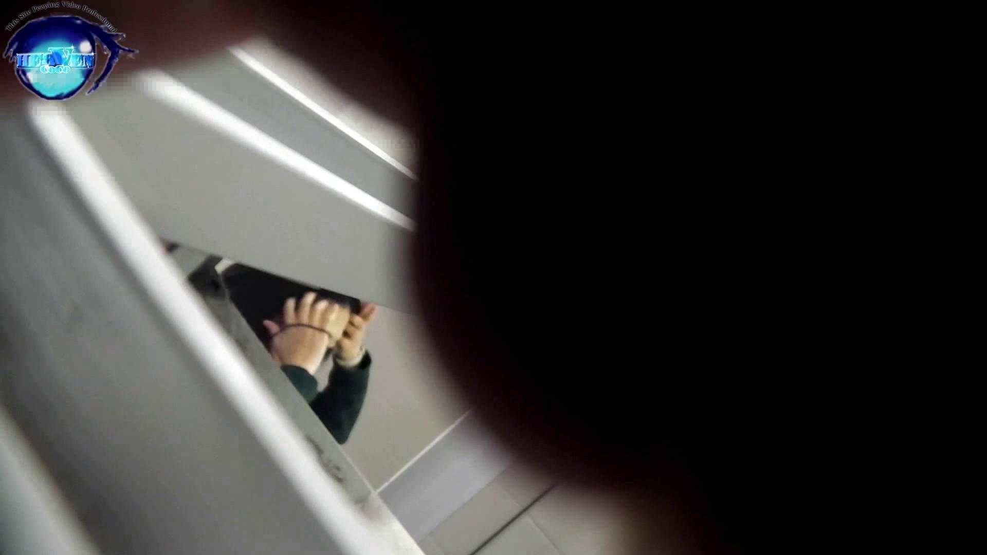 お銀さんの「洗面所突入レポート!!」 vol.54 エロすぎる捻り?前編 美人 オメコ動画キャプチャ 54連発 44