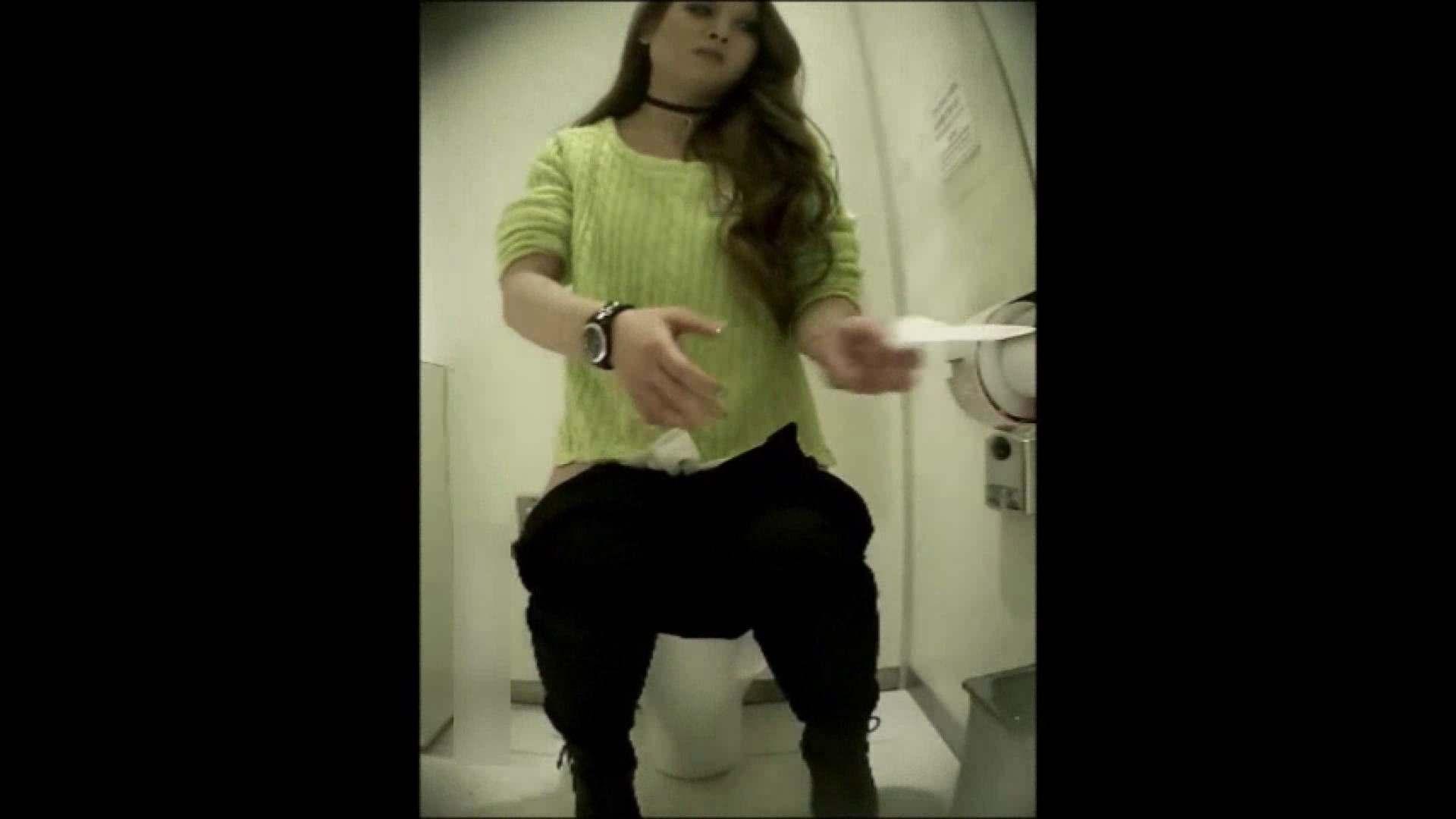 洗面所盗撮~隣の美人お姉さんVol.16 トイレの中の女の子 おめこ無修正画像 96連発 44