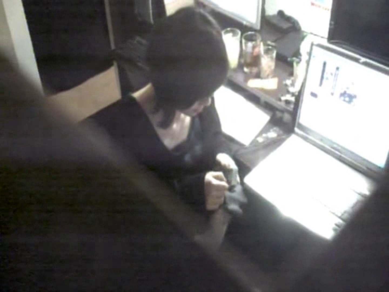 インターネットカフェの中で起こっている出来事 vol.011 いやらしいOL | 0  38連発 21